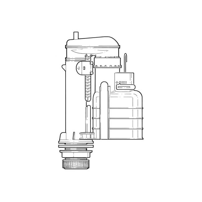 """Fluidmaster Pro Ultra Syphon - 7.1/2"""" to 9.1/2"""""""