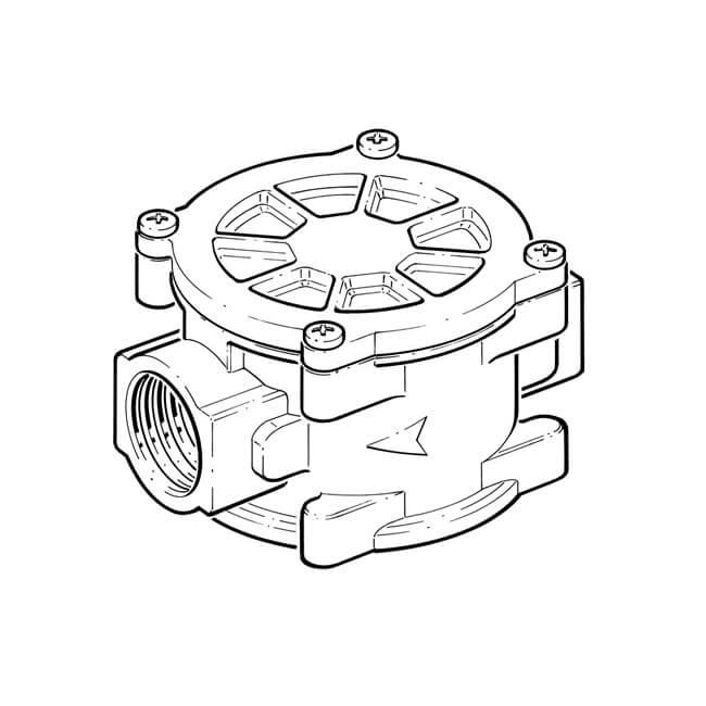 Fm Inline Gas Filter 2 Bsp