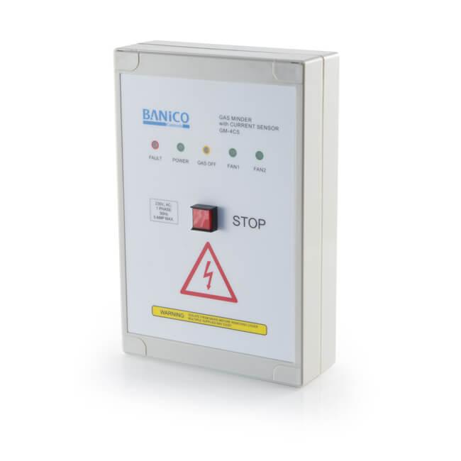 Gas-Minder GM-4CS Interlock Control