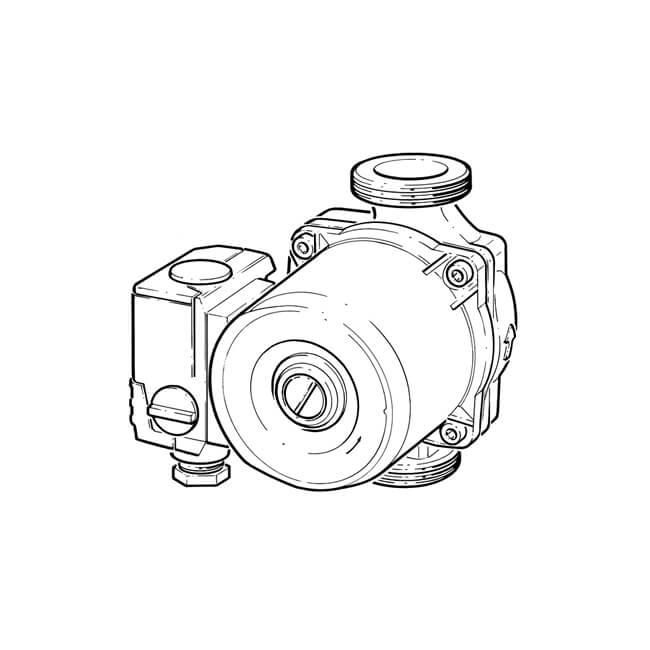 Bronze Hot Water Circulator Pump Se20b
