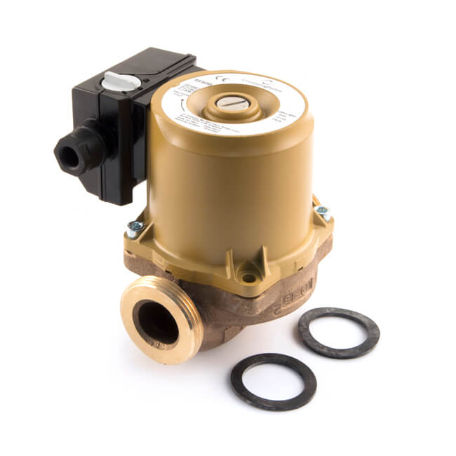 SE60B Hot Water Circulator Pump - Bronze
