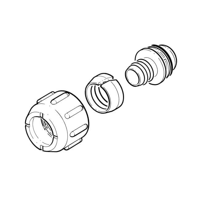 Groundbreaker™ Universal Pipe Connection Kit