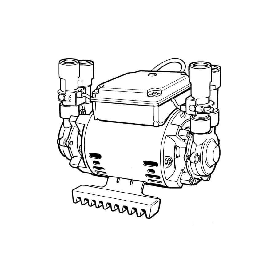 Grundfos Stp 20 B Twin Regenerative Shower Pump 2 Bar 19658 Bes Boiler Wiring Diagram Regen