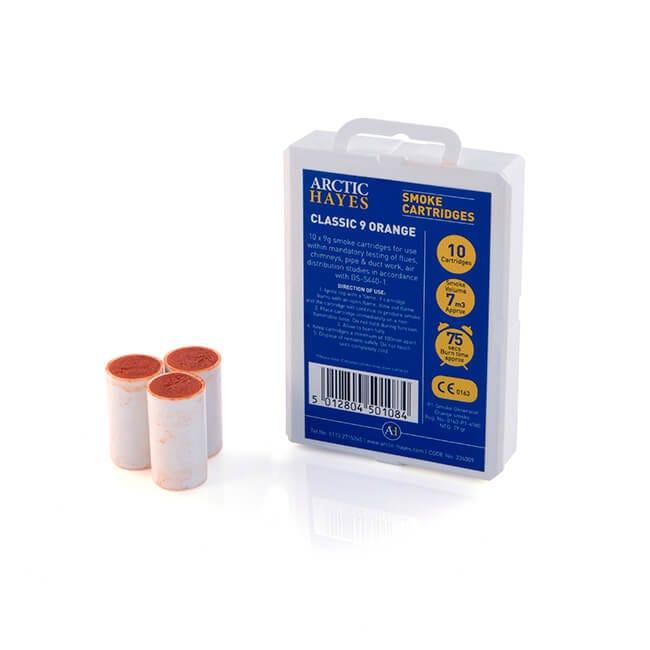 Hayes UK 9g Orange Smoke Pellets - Pack of 10