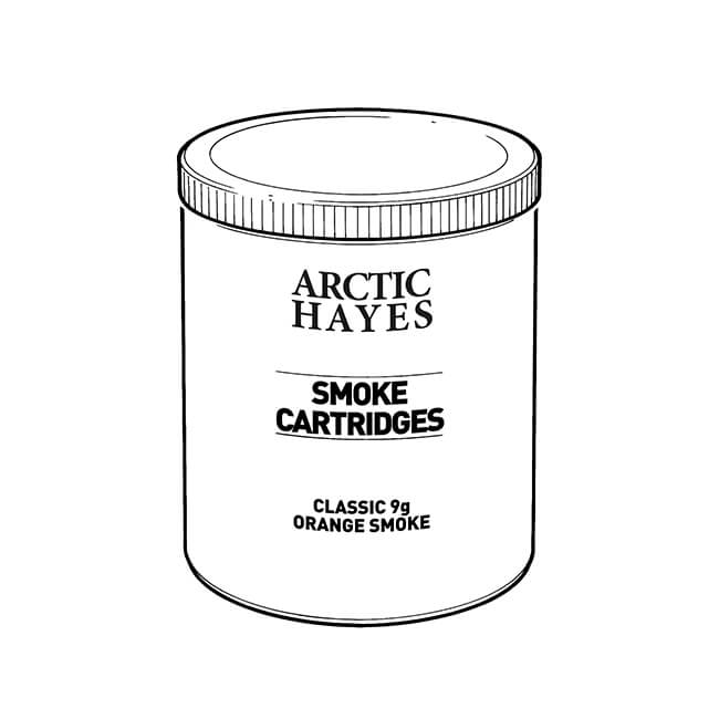 Hayes UK 9g Orange Smoke Pellets - Tub of 50