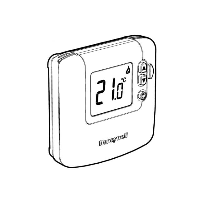 honeywell sundial rf u00b2 central heating control pack 1