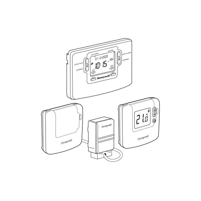 Honeywell Sundial RF² Central Heating Control Pack 3