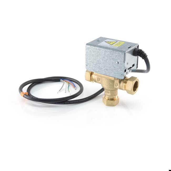 Honeywell V4073A Mid-Position Valve - 3 Port 22mm
