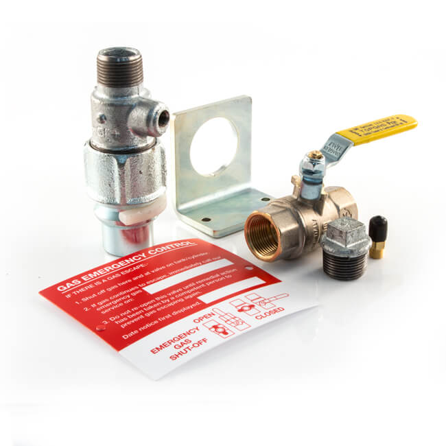 Clesse LPG Tank House End Installation Kit