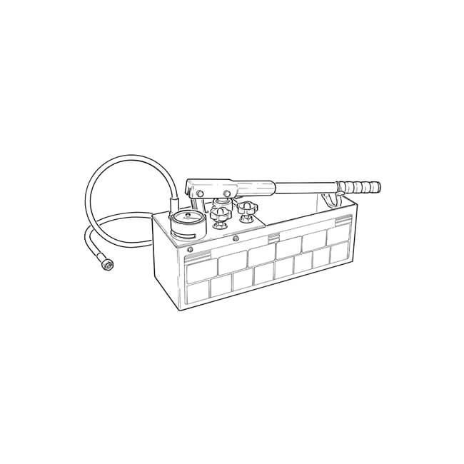 Hydraulic Hand Test Pump Dual Valve