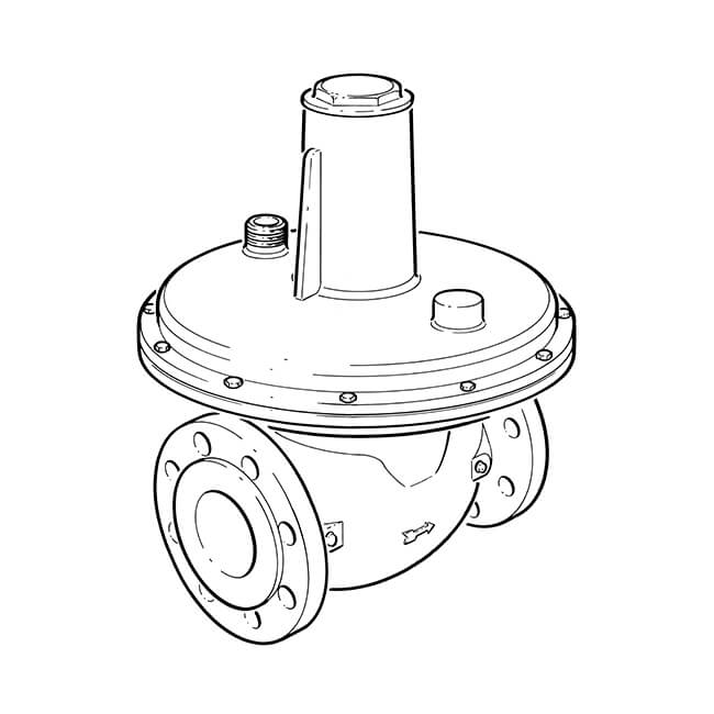 "Industrial Regulator - 3"" Flanged (DN80)"