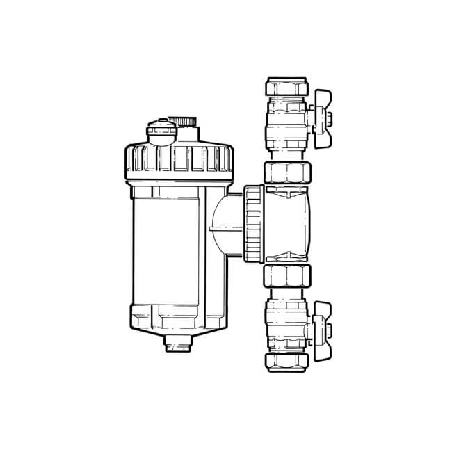 IntaKlean 2 Magnetic Filter - 28mm