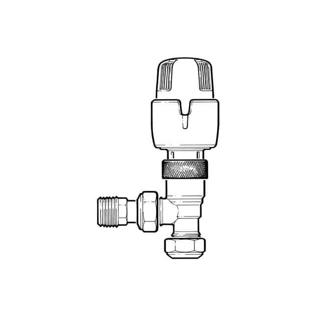 Inta Thermostatic Radiator Valve - 15mm