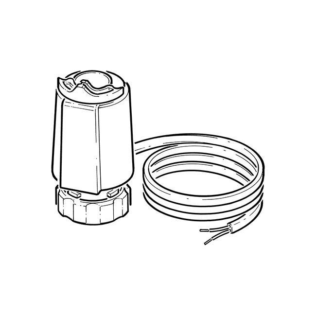 Inta Thermal Actuator - 2 Wire, 240V