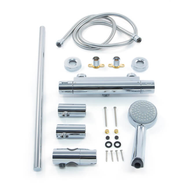 Inta Trade-Tec Thermostatic Bar Shower Kit
