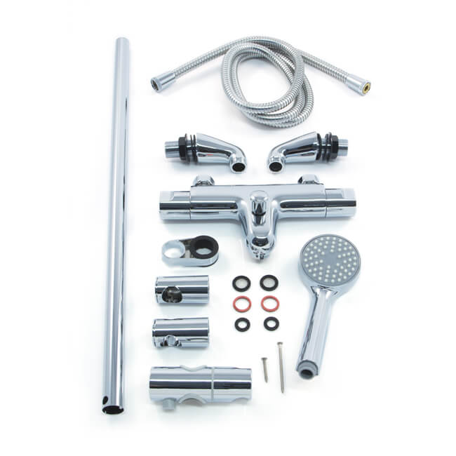 Inta Trade-Tec Thermostatic Bath/Shower Kit