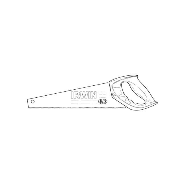 Irwin® Jack® Ultra-Fine Handsaw