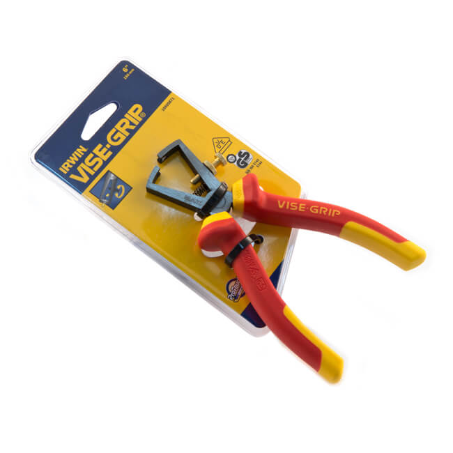 "Irwin® Vise-Grip® VDE Wire Stripper Pliers - 6""/150mm"