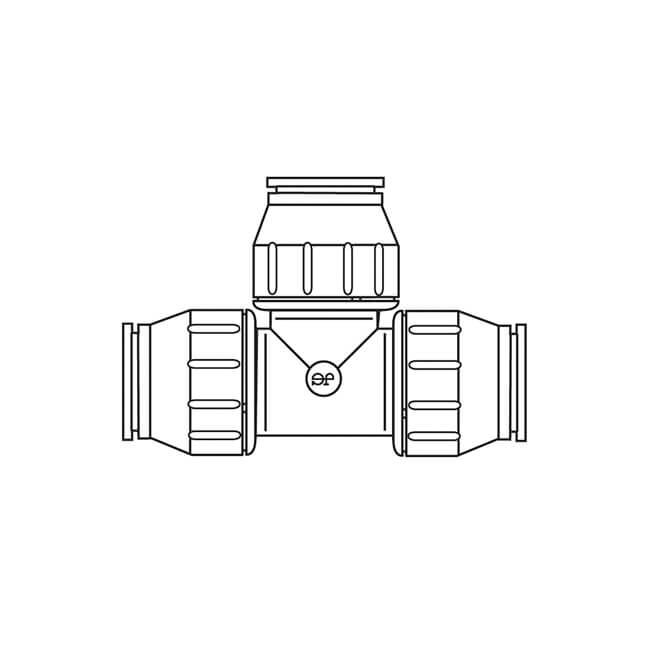22mm Speedfit Equal Tee Bag of 10 PEM0222W
