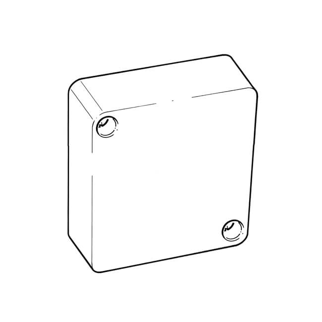 Junction Box - 10A, 12 Way, White