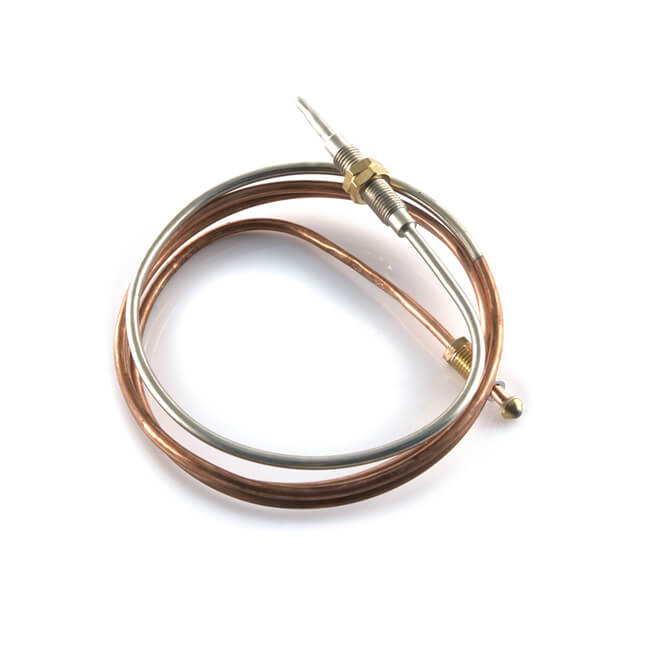 Thermocouple Junction - M8 Button End x 1300mm Nickel