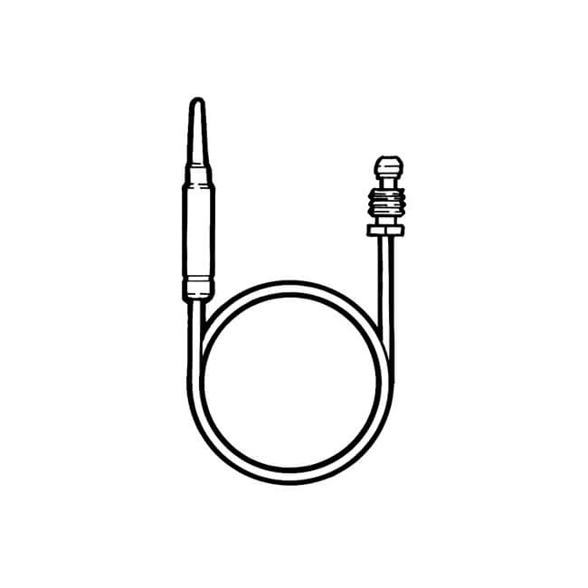 Thermocouple Junction - Circlip Button End M8 x 450mm