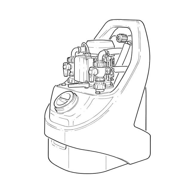 kamco cf40 evolution power flush pump 230v