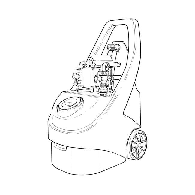 kamco cf90 quantum2 power flush pump 230v