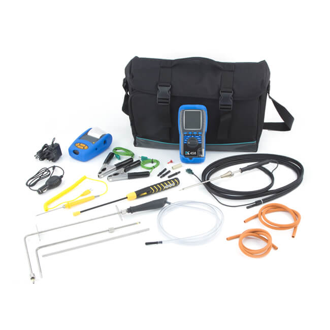 Kane 458 CPA1 Infrared Flue Gas Analyser Kit