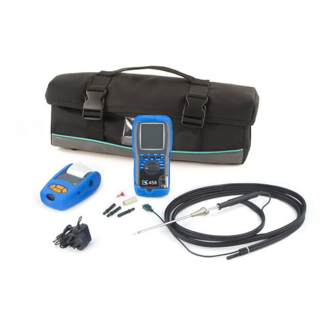 Kane 458 Infrared Flue Gas Analyser Kit