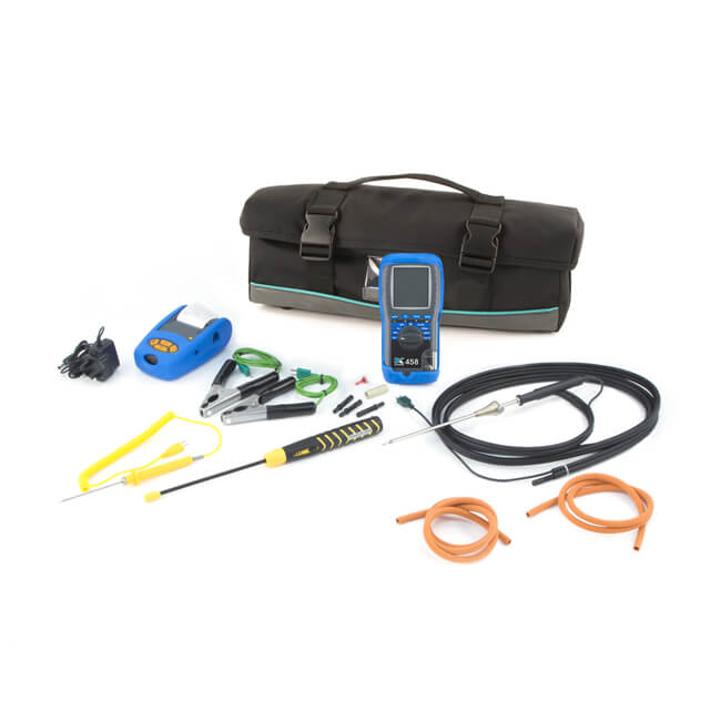 Kane 458 Pro Infrared Flue Gas Analyser Kit