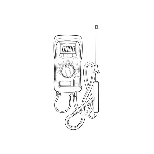 Kane 504 Flue Gas Analyser