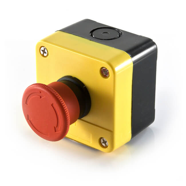 GAS INTERLOCK EMERGENCY GAS SHUT OFF PUSH BUTTON BOX