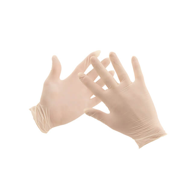 Latex Gloves - (Large) Pack of 100