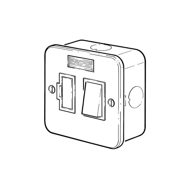 metal clad connection unit - surface-mounted - 11512