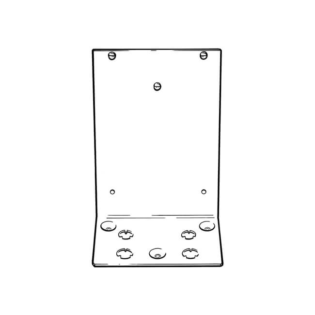 Floor Mounted Meter Bracket
