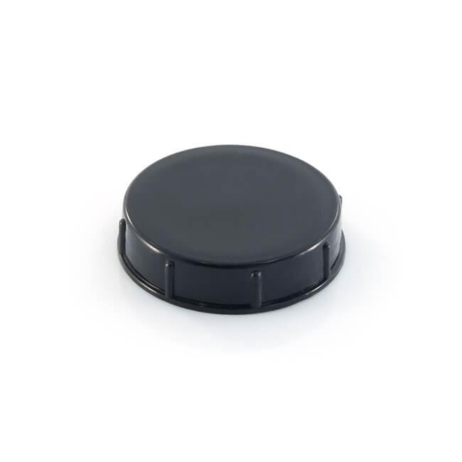 """Meter Cap BS 746 - 1"""" F Black Plastic"""