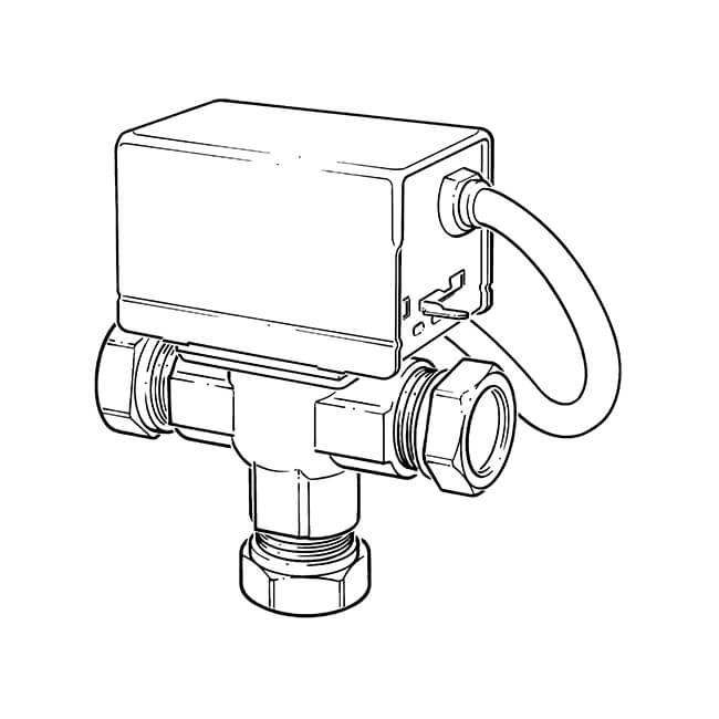 Motorised Mid-position Valve - 3 Port 22mm