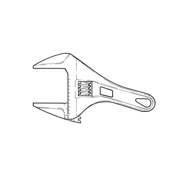 Nerrad Superwide Stubby Wrench