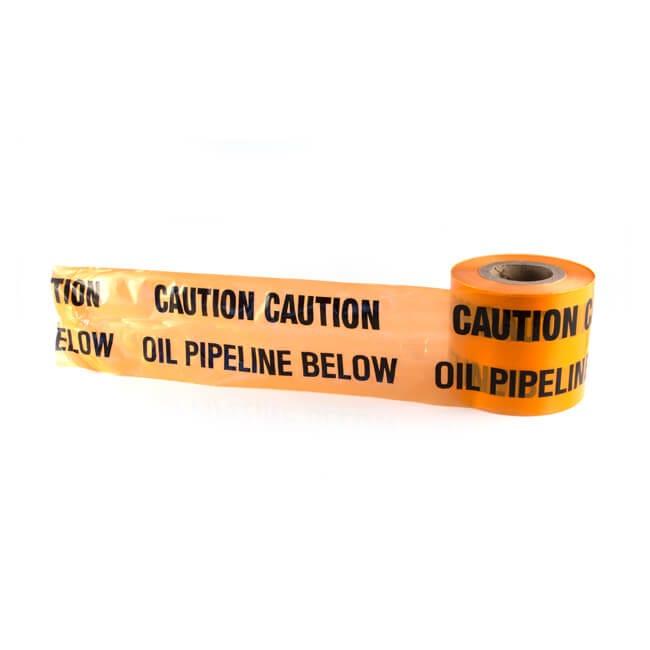 Oil Underground Hazard Marker Warning Tape - 365m