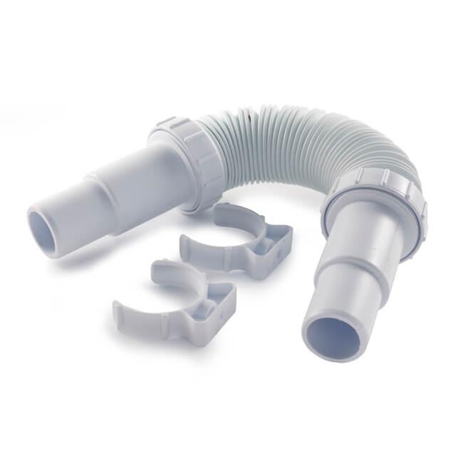 opella 32 40 adj flexible waste pipe short 20987. Black Bedroom Furniture Sets. Home Design Ideas