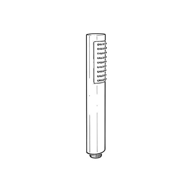 Round Single Function Shower Handset Head - Chrome