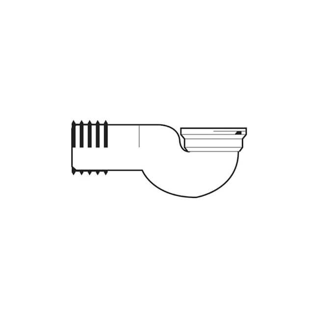 Kwickfit Toilet Pan Connector - 90° Swan Neck