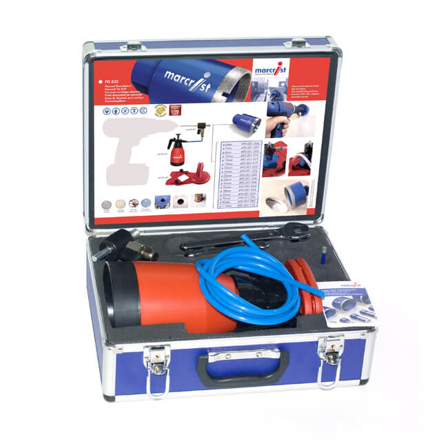 Marcrist PG 850 Tile Drilling Starter Kit
