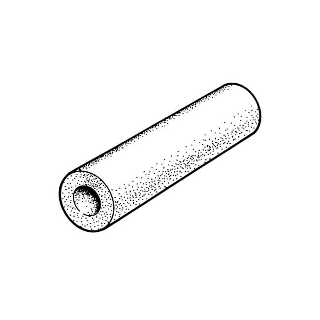 PIPE FIRE RATED INSULATION 2M LENGTH 12MM I.D X 13MM WALL