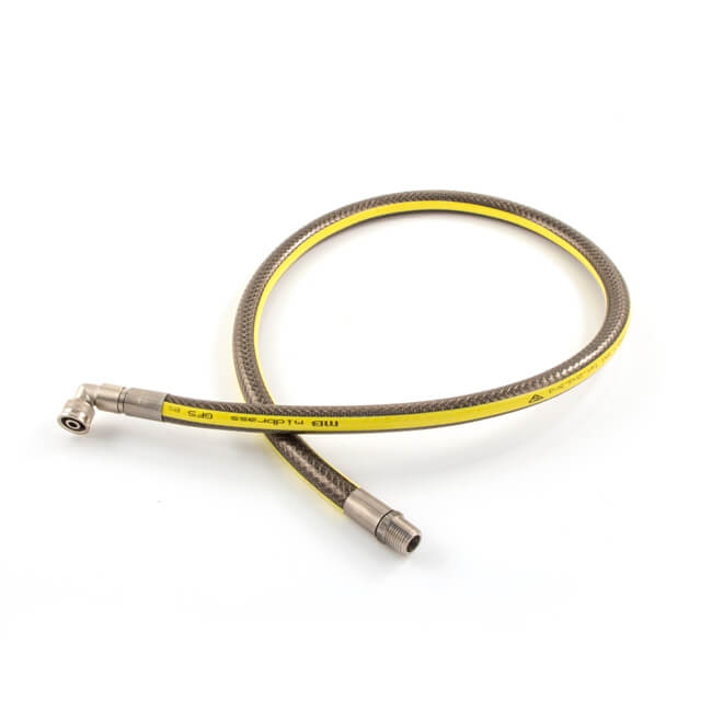 Plug-In Micropoint Bayonet Gas Cooker Hose 1500mm