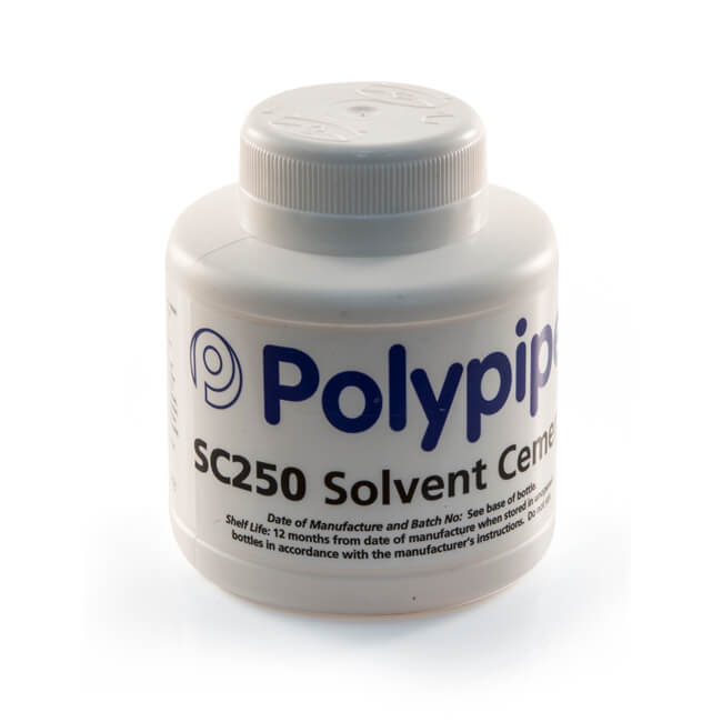 Solvent Cement with Brush to BS 6209 - 250ml