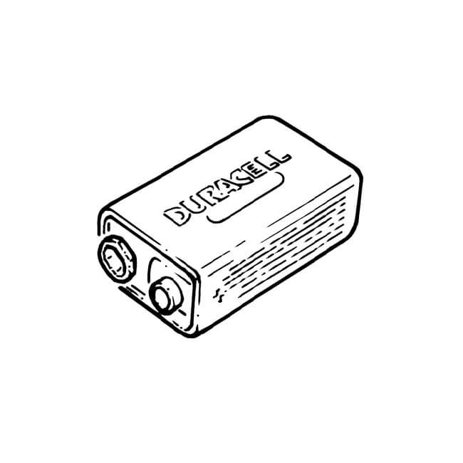 rechargeable battery pp3 - 9v