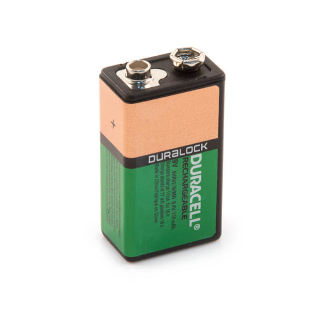 Duracell NiMH Rechargeable Battery - PP3 9V