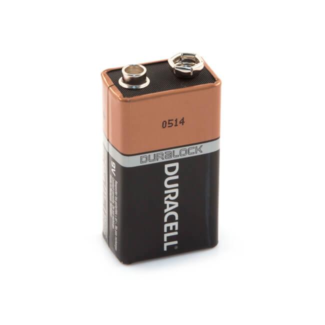 Duracell PP3 9V Alkaline Battery - Pack of 1